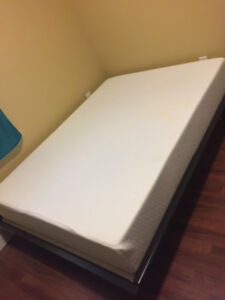 FURNITURE FOR SALE - Mattress, platform, computer desk