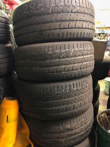 Porsche Panamera used OE tires set