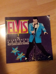 Livre Elvis The Illustrated Record ( version anglaise )