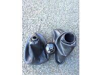 Ford Focus Zetec MK1 Leather Gearbox/stick & Handbreak Cover