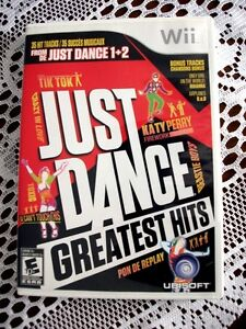 Just Dance Greatest Hits Wii Game