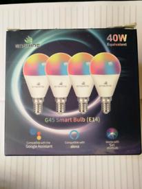 Enshine G45 Smart Bulbs (E14) 4 pack