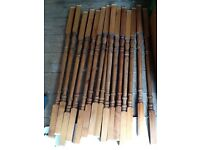 15 stair spindles Used but good £5