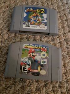 Two rare n64 games