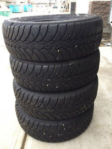 195/65/15 Four Good Year Nordic Winter Tires