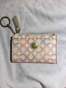 Coach coin purse/card holder/key chain