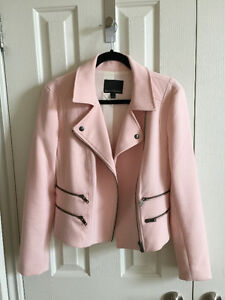 Banana Republic Pink Moto Jacket - Size 10