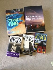 Stephen King Books- NEW