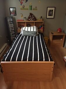 Lit matelot une place /Twin Size Mates Bed