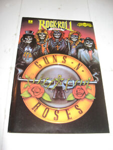 Revolutionary Comics RocknRoll GnR! BonJovi! Poison! comic book