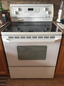 Whirlpool Gold Glass Cook Top Self Clean Oven