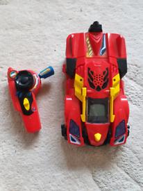 Transforming remote control car