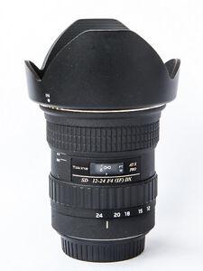 Tokina 12-24 F4 wide angle lens