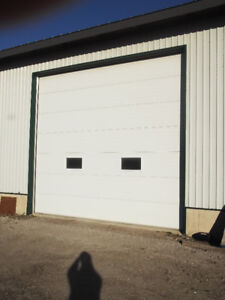 10' H X 16' W HD  COMMERCIAL INSULATED AUTOMATIC GARAGE DOOR