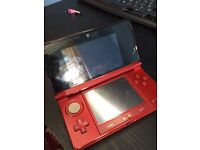 NEW RED 3DS / W Charger