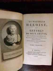 Set of 4 books from Paris from the year 1808 very old