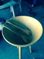 Large Salad Bowl/Stand