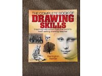 Watercolour, drawing and colouring technique books