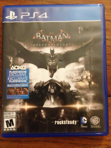 Batman: Arkham Knight (PS4). $25