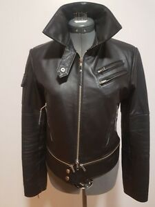 Genuine Leather Women's Motorcyle Jacket