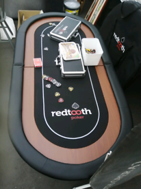 Two redtooth poker tables