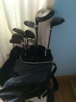 Left Handed Paragon Z-450F Golf Clubs