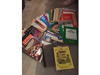 Selection of 38 piano music books