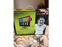 "Technika 19"" LCD freeview tv/DVD player"