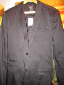 Guess Black Chromatic LS Blazer Jacket  New With Tags