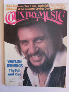 WAYLON JENNINGS. country music magazine,  1983.  (voir infos)