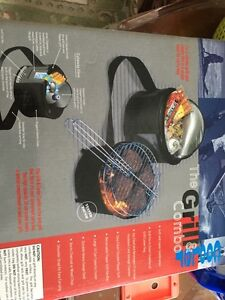 Brand new gill and cooler 2 in 1