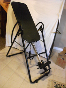 An almost new Eliptical back stretcher