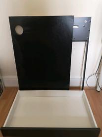 IKEA MICKE Desk Drawer Black