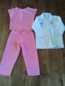 Doctor outfit for Halloween-Girl(4T)