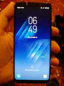 Samsung Galaxy S8 unlocked smartphone!