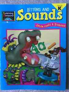 BRAND NEW - LEARNING HORIZONS LETTERS AND SOUNDS WORKBOOK  GR K