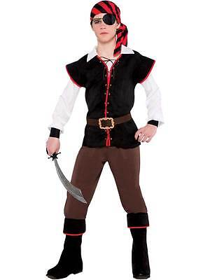 he Sea Pirate Fancy Dress Caribbean Halloween Costume 12-16 (Halloween-kostüme Teen Boys)
