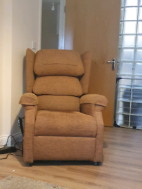 Electronic arm chair