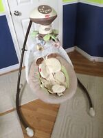 Baby cradle & swing for sale