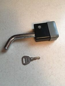 "1/2"" pin hitch lock for 1.25"" receiver"