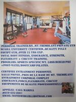 PERSONAL TRAINER-PRIVATE GYM- MT. TREMBLANT