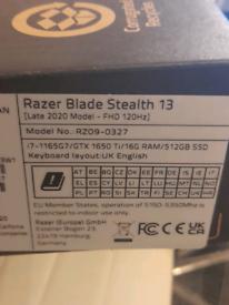 Razer Blade Stealth 13 Gaming Laptop 120hz (Brand New and Unused)