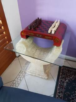 Nick Scali Fossil square coffee table