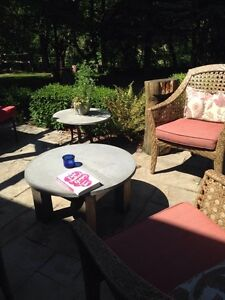 Outdoor patio Concrete Tables Stratford Kitchener Area image 1