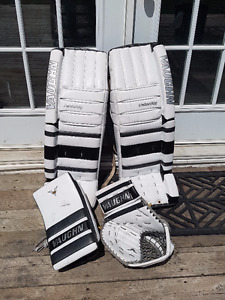 Vaughn V5 7800 Pro Custom Goalie pads set 34+2