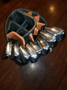 Taylormade m2 irons from 4 to gap wedge lefthand