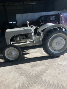 Antique Ford 8N Tractor