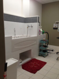 Groomer wanting to share space in grooming shop . Sun-Tues.