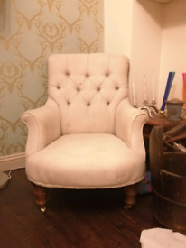 Button Backed Armchair