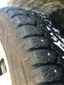 205/60/15 STUDDED Winter Tires